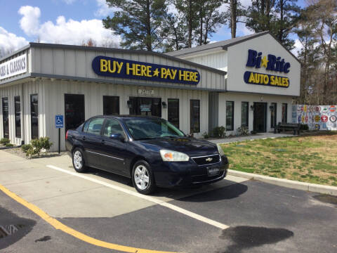 2006 Chevrolet Malibu for sale at Bi Rite Auto Sales in Seaford DE