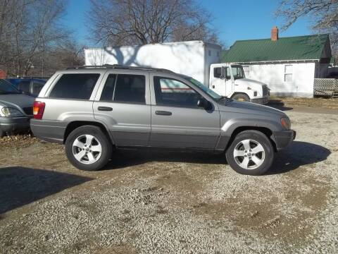 2001 Jeep Grand Cherokee for sale at BRETT SPAULDING SALES in Onawa IA