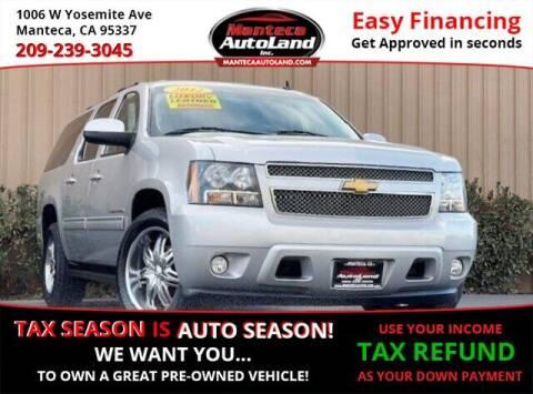 2012 Chevrolet Suburban for sale at Manteca Auto Land in Manteca CA