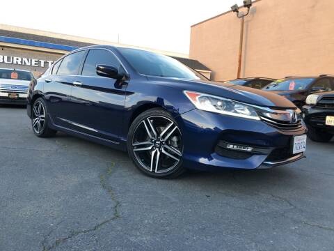 2017 Honda Accord for sale at Cars 2 Go in Clovis CA
