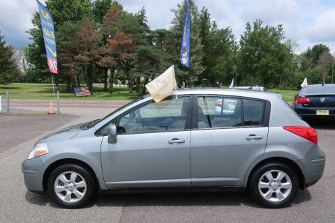 2008 Nissan Versa for sale at GEG Automotive in Gilbertsville PA