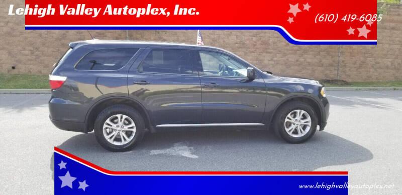 2013 Dodge Durango for sale at Lehigh Valley Autoplex, Inc. in Bethlehem PA