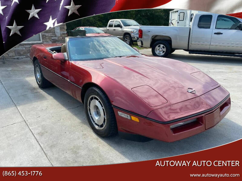 1987 Chevrolet Corvette for sale at Autoway Auto Center in Sevierville TN