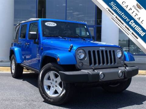 2014 Jeep Wrangler Unlimited for sale at Capital Cadillac of Atlanta in Smyrna GA
