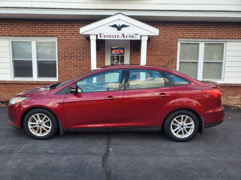 2015 Ford Focus for sale at UPSTATE AUTO INC in Germantown NY