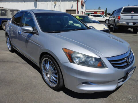 2011 Honda Accord for sale at Guy Strohmeiers Auto Center in Lakeport CA