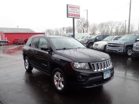 2015 Jeep Compass for sale at Marty's Auto Sales in Savage MN