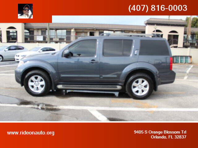 2010 Nissan Pathfinder for sale at Ride On Auto in Orlando FL