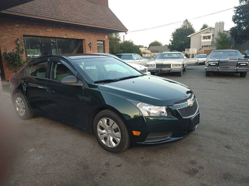 2014 Chevrolet Cruze for sale at Pat's Auto Sales, Inc. in West Springfield MA