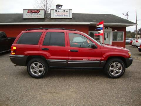 2004 Jeep Grand Cherokee for sale at G and G AUTO SALES in Merrill WI