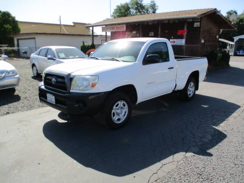 2006 Toyota Tacoma for sale at Manzanita Car Sales in Gridley CA