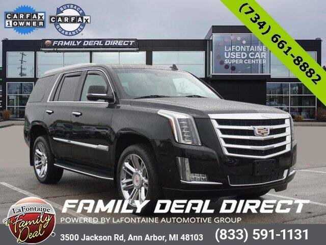 2018 Cadillac Escalade for sale in Ann Arbor, MI
