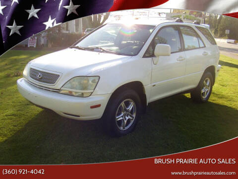 2002 Lexus RX 300 for sale at Brush Prairie Auto Sales in Battle Ground WA
