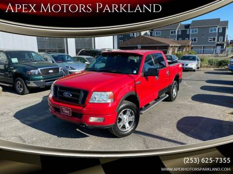 2004 Ford F-150 for sale at Apex Motors Parkland in Tacoma WA