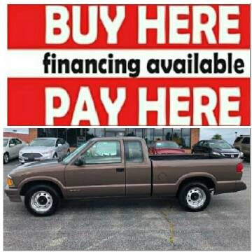 1997 Chevrolet S-10 for sale at BP Auto Finders in Durham NC