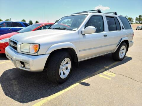 2003 Nissan Pathfinder for sale at Cool Rides of Colorado Springs in Colorado Springs CO