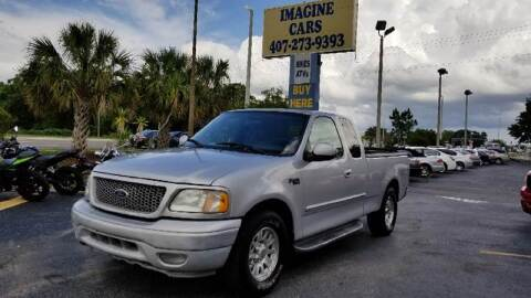 2003 Ford F-150 for sale at IMAGINE CARS and MOTORCYCLES in Orlando FL