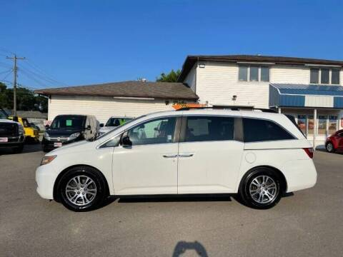 2012 Honda Odyssey for sale at Twin City Motors in Grand Forks ND