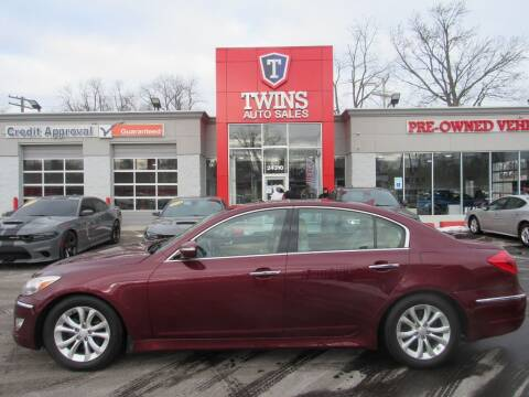 2012 Hyundai Genesis for sale at Twins Auto Sales Inc in Detroit MI