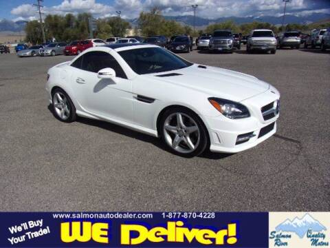 2014 Mercedes-Benz SLK for sale at QUALITY MOTORS in Salmon ID