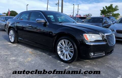 2011 Chrysler 300 for sale at AUTO CLUB OF MIAMI in Miami FL