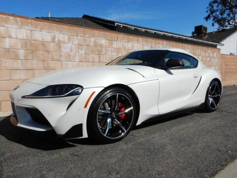 2021 Toyota GR Supra for sale at California Cadillac & Collectibles in Los Angeles CA