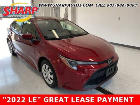 2022 Toyota Corolla for sale at Sharp Automotive in Watertown SD