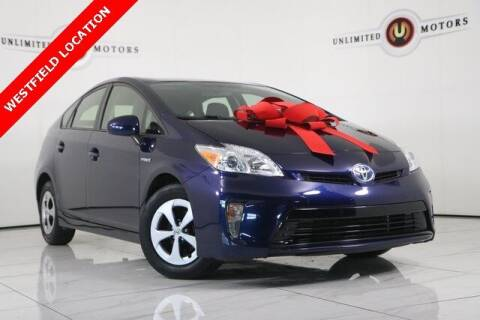 2015 Toyota Prius for sale at INDY'S UNLIMITED MOTORS - UNLIMITED MOTORS in Westfield IN