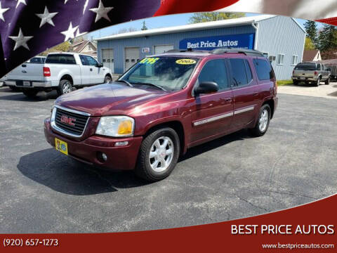 2003 GMC Envoy XL for sale at Best Price Autos in Two Rivers WI