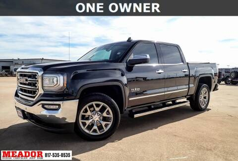 2018 GMC Sierra 1500 for sale at Meador Dodge Chrysler Jeep RAM in Fort Worth TX