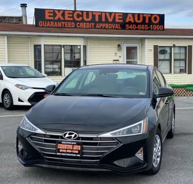 2020 Hyundai Elantra for sale at Executive Auto in Winchester VA