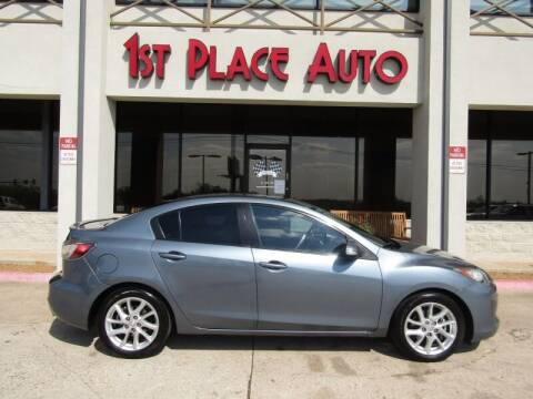 2012 Mazda MAZDA3 for sale at First Place Auto Ctr Inc in Watauga TX