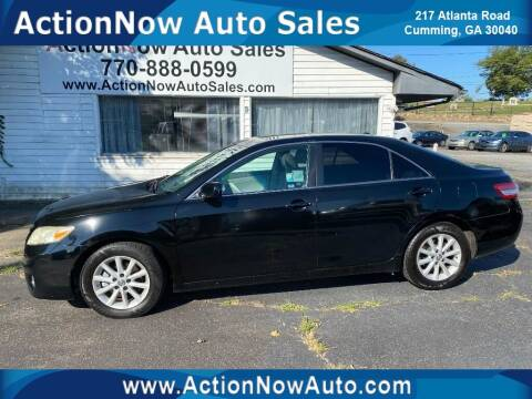 2011 Toyota Camry for sale at ACTION NOW AUTO SALES in Cumming GA