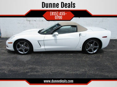 2006 Chevrolet Corvette for sale at Dunne Deals in Crystal Lake IL