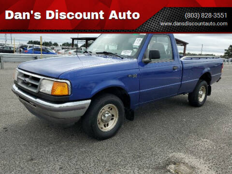 1996 Ford Ranger for sale at Dan's Discount Auto in Gaston SC
