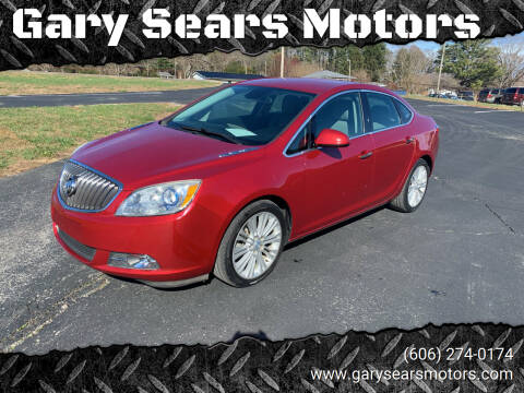 2014 Buick Verano for sale at Gary Sears Motors in Somerset KY