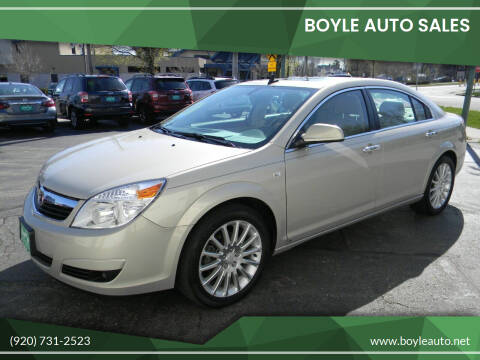 2009 Saturn Aura for sale at Boyle Auto Sales in Appleton WI