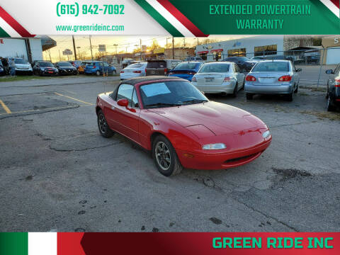 1990 Mazda MX-5 Miata for sale at Green Ride Inc in Nashville TN