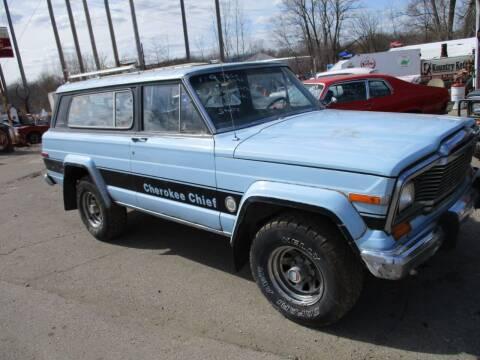 1979 Jeep Wagoneer for sale at Marshall Motors Classics in Jackson Michigan MI