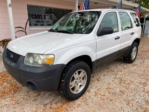 2006 Ford Escape for sale at D & D Detail Experts / Cars R Us in New Smyrna Beach FL