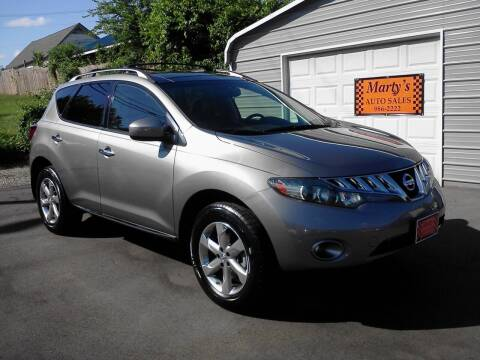 2010 Nissan Murano for sale at Marty's Auto Sales in Lenoir City TN