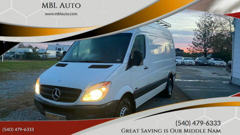 2013 Mercedes-Benz Sprinter Cargo for sale at MBL Auto in Fredericksburg VA