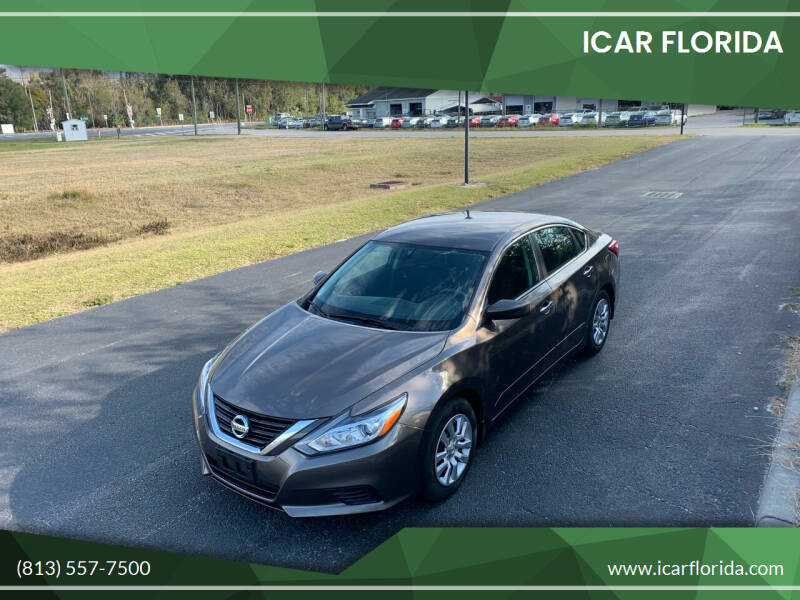 2016 Nissan Altima for sale at ICar Florida in Lutz FL