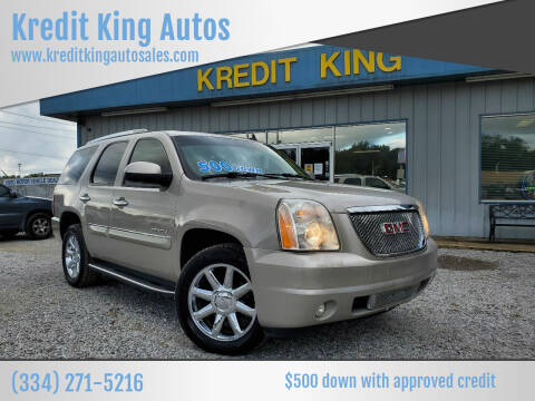 2007 GMC Yukon for sale at Kredit King Autos in Montgomery AL