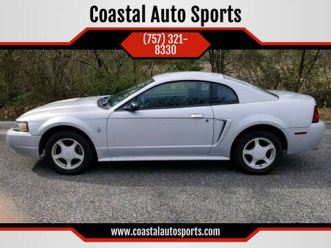 2002 Ford Mustang for sale at Coastal Auto Sports in Chesapeake VA