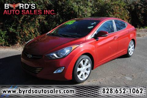 2012 Hyundai Elantra for sale at Byrds Auto Sales in Marion NC