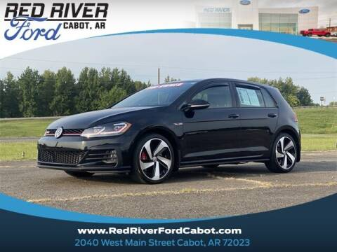 2019 Volkswagen Golf GTI for sale at RED RIVER DODGE - Red River of Cabot in Cabot, AR