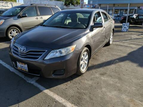 2010 Toyota Camry for sale at Best Deal Auto Sales in Stockton CA