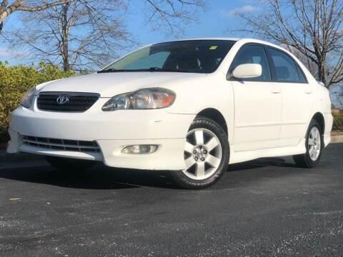 2007 Toyota Corolla for sale at William D Auto Sales in Norcross GA