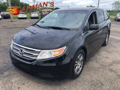 2012 Honda Odyssey for sale at Carmans Used Cars & Trucks in Jackson OH